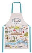 Harrods London Map Cotton Apron