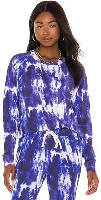 Stripe & Stare Ink Tie Dye Sweatshirt
