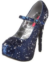 Pleaser USA Bordello by Women's Teeze-07Sq Pump