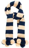 Marc Jacobs Wool Pom-Pom Scarf