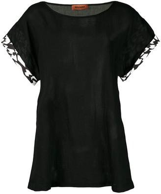 Missoni printed trim T-shirt