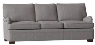 "Lorado Sofa Duralee Furniture Body Fabric: Gray, Size: 72"" W"