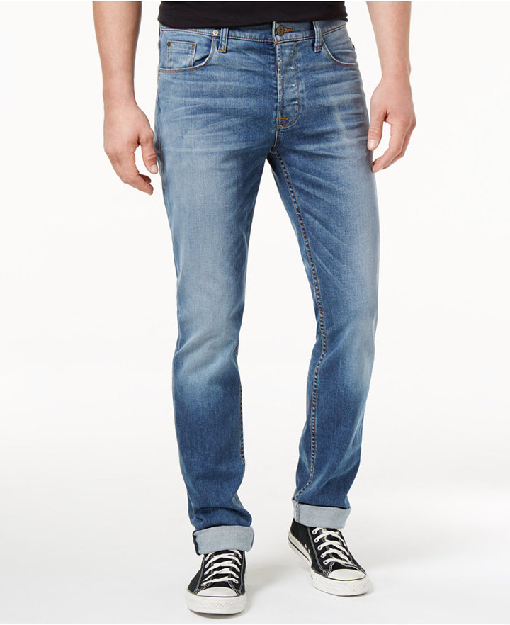 Hudson Sartor Men's Sartor Slouchy Skinny-Fit Beach Slope Wash Jeans