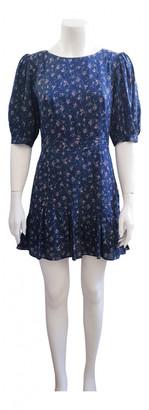 LoveShackFancy Blue Cotton Dress for Women