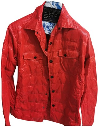 Gas Jeans Red Synthetic Jackets