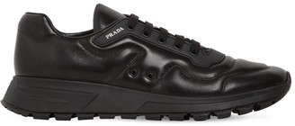 Prada Prax 01 Nappa Running Leather Sneakers