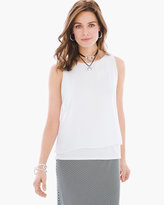 Chico's Knit Woven Tank