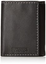 Kenneth Cole Reaction Men's Leather Traveler Trifold Wallet