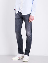 7 For All Mankind Ronnie Luxe Performance skinny mid-rise jeans