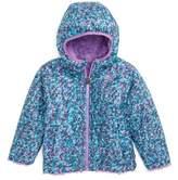 The North Face Toddler Girl's Mossbud Reversible Heatseeker(TM) Wind Resistant Jacket