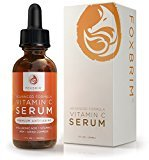 Fine Lines Foxbrim Vitamin C Serum for Face, 1 fl oz. - BEST Anti-Aging Serum - Vegan Hyaluronic Acid & Amino Complex - Premium Face Serum for Beautiful Skin - Natural & Organic - Perfect for All Skin Types - Lasting Results with Amazing Guarantee