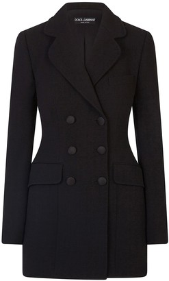 Dolce & Gabbana Fitted Double-Breasted Blazer