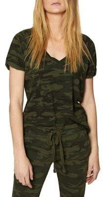 Sanctuary Camo-Print V-Neck Tee