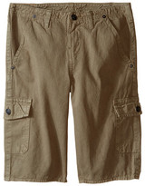True Religion Overdye Trooper Cargo Shorts (Big Kids)