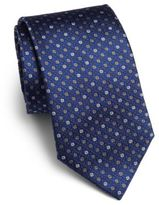 Saks Fifth Avenue Textured Dot Silk Tie