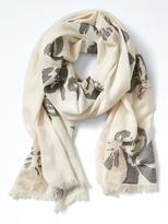 Banana Republic Floral Shine Scarf