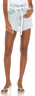 7 For All Mankind Paper Bag Short. - size 26 (also
