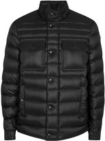 Moncler Forbin Black Quilted Shell Jacket