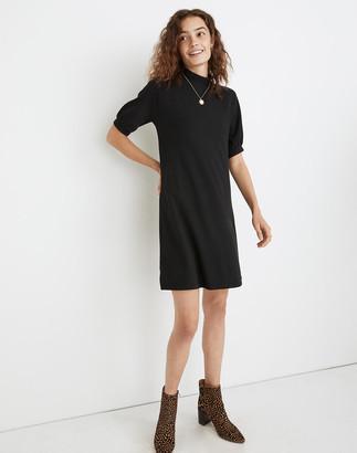 Madewell Textured Knit Mockneck Mini Dress