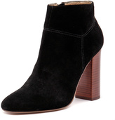 Siren Pip Black Cow Suede