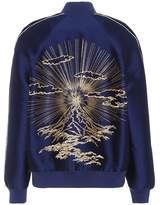 Stella McCartney Lorinda embroidered bomber jacket