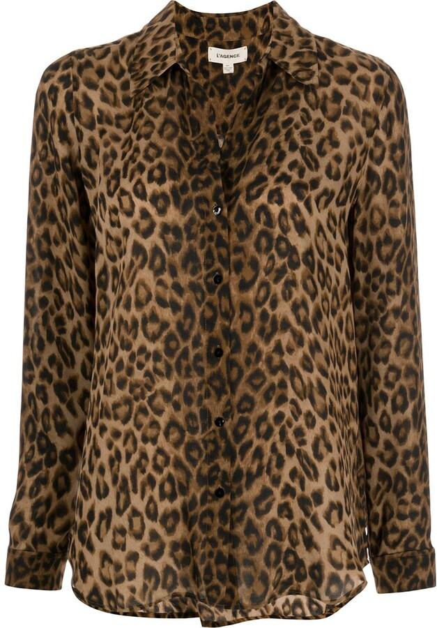Thumbnail for your product : L'Agence Nina silk shirt