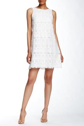 Max Studio Sleeveless Lace A-Line Dress