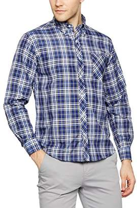 THE INDIAN FACE Men's Regular Fit Classic Long Sleeve Shirt - Multicolour - Small