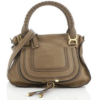 Chloé Marcie Satchel Leather Medium