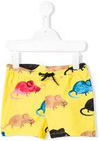 Mini Rodini Mr Mouse swim shorts - kids - Recycled Polyester - 2 yrs