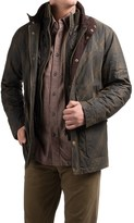 Viyella Waxed-Cotton Jacket - Insulated (For Men)