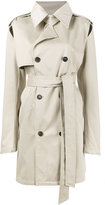 Y / Project cutout trench coat
