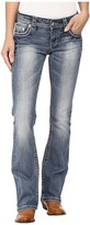 Stetson 818 Contemporary Bootcut with Heavy Contrast Stitch and Flap Back Pocket Women's Jeans