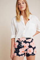 Anthropologie Georgie Scalloped Shorts