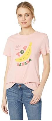 ban.do Top Banana Classic Tee (Pink) Women's T Shirt