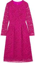 ADAM by Adam Lippes Corded Cotton-blend Lace Midi Dress - Fuchsia