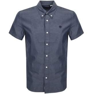 Timberland Milford Short Sleeved Shirt Navy