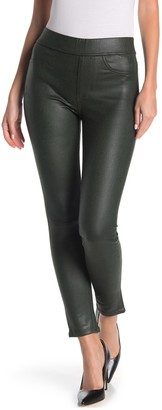 JEN7 by 7 For All Mankind Faux Leather Ponte Skinny Jeans
