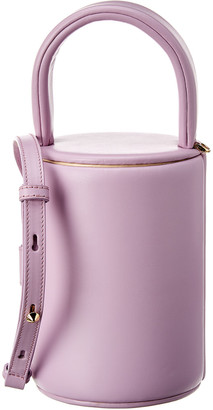 Salar Milano Lollipop Leather Bucket Bag