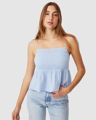 Cotton On Babydoll Shirred Cami