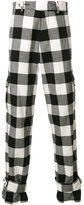 J.W.Anderson gingham check cargo trousers