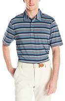 Cutter & Buck Men's Cb Drytec Wave Stripe Polo