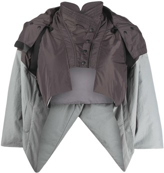 Hyein Seo Panelled Cropped Jacket