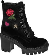 Catwalk Embroidery Chunky Boot