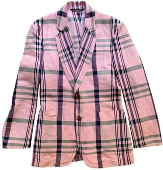 Vivienne Westwood Pink Cotton Jackets