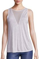 Alo Yoga Warm Up Mesh Inset Tank Top