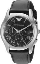 Emporio Armani Men's AR1700 Classic Analog Display Analog Quartz Black Watch