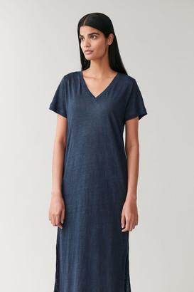 Cos Linen T-Shirt Dress