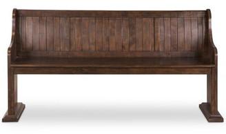 One Allium Way Shepard Traditional Wood Bench One Allium Way