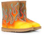 UGG x Jeremy Scott classic short flames boots